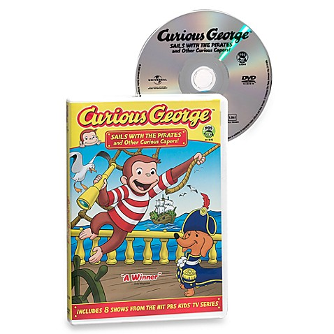 Curious George  Sails with Pirates and Other Curious Capers DVD. Curious George  Sails with Pirates and Other Curious Capers DVD