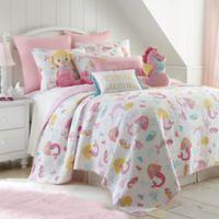 Levtex Home Joelle 3-Piece Reversible Full/Queen Quilt Set in Pink