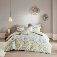 Urban Habitat Matti King/California King Duvet Cover Set in Yellow