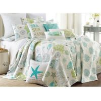 Levtex Home Arielle Reversible King Quilt Set in Aqua