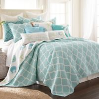Levtex Home Southport Reversible King Quilt Set in Teal