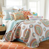 Levtex Home Gale Reversible Twin Quilt Set