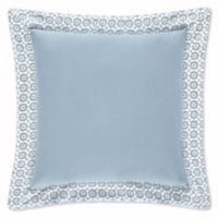 Piper & Wright Ansonia Square Throw Pillow in Blue