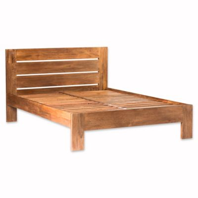 moes home collection anton queen platform bed