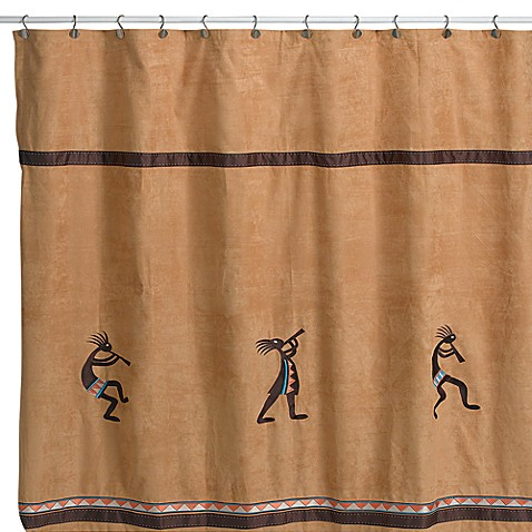 Avanti Kokopelli 72 Inch X 72 Inch Fabric Shower Curtain