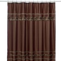 Croscill® Mosaic Tile 70-Inch x 75-Inch Fabric Shower Curtain