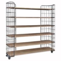 Moe's Home Collection Circa Shelf in Light Brown