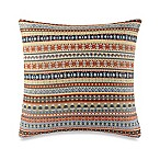 Make-Your-Own-Pillow Busby Throw Pillow Cover in Yellow