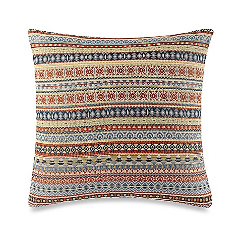 Throw Pillow Covers Bed Bath Beyond : Make-Your-Own-Pillow Busby Throw Pillow Cover in Yellow - Bed Bath & Beyond