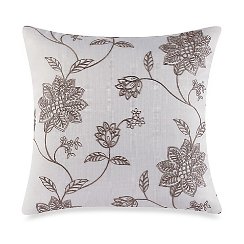 Decorative Pillow Covers Bed Bath Beyond : Make-Your-Own-Pillow Jaylynn Throw Pillow Cover in Natural - Bed Bath & Beyond