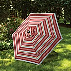7.5-Foot Round Replacement Canopy for Umbrella in Atlantic Stripe