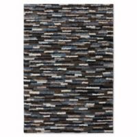 Mohawk Home Augusta Collection Mesa 3-Foot 4-Inch x 5-Foot 6-Inch Area Rug in Black