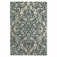 Mohawk Home Augusta Collection Spokane 5-Foot x 8-Foot Area Rug in Blue