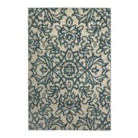 Mohawk Home Augusta Collection Spokane 8-Foot x 11-Foot Area Rug in Blue