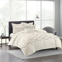 Urban Habitat Sunita 7-Piece Full/Queen Comforter Set in White