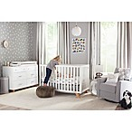Child craft soho 4 in 1 convertible crib in white natural for Child craft soho 4 in 1 convertible crib in natural