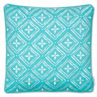 Levtex Home Arielle Embroidered Geo Throw Pillow