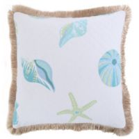 Levtex Home Southport Quilted Shell Throw Pillow with Fringe