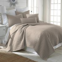 Levtex Home Salerno Twin Quilt Set in Taupe