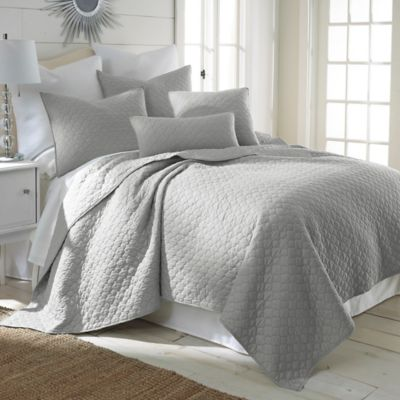 Levtex Home Rno Twin Quilt Set In Light Grey