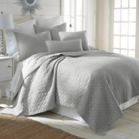 Levtex Home Salerno Full/Queen Quilt Set in Light Grey