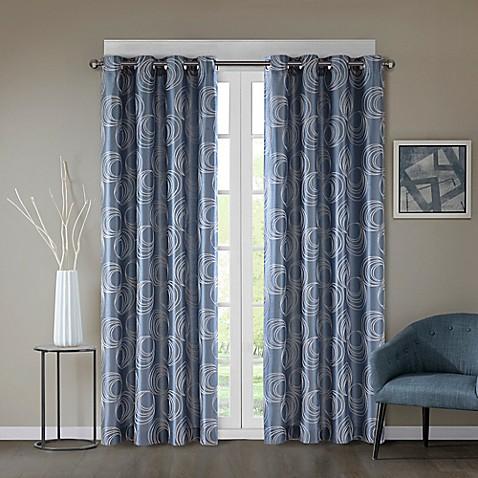 Regency Heights 174 Cosma Grommet Window Curtain Panel Bed