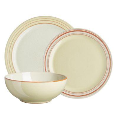 Denby Heritage Veranda 12-Piece Dinnerware Set in Yellow  sc 1 st  Bed Bath u0026 Beyond & Buy Yellow Dinnerware from Bed Bath u0026 Beyond
