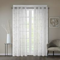 Regency Heights® Cosma 84-Inch Sheer Grommet Window Curtain Panel in White