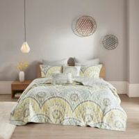 Urban Habitat Matti 7-Piece Full/Queen Coverlet Set in Yellow