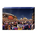 MLB Chicago Cubs Win 24-Inch x 16-Inch Canvas Wall Art