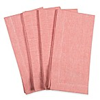 Fete Coastal Spring Napkins in Coral (Set of 4)