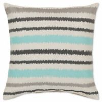 Style Statements by Surya Canova 18-Inch Square Throw Pillow in Aqua