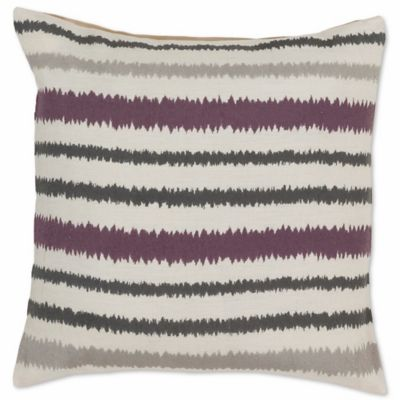 style statements by surya canova 18inch square throw pillow in purple