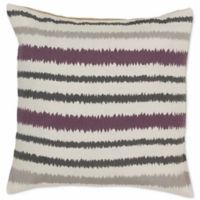 Style Statements by Surya Canova 18-Inch Square Throw Pillow in Purple