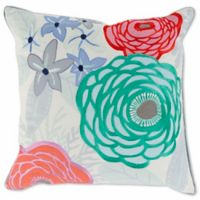 Style Statements by Surya Apera 18-Inch Square Throw Pillow in Emerald