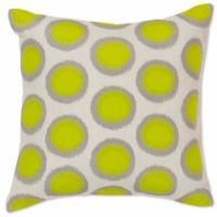 Style Statements by Surya Altamura 20-Inch Square Throw Pillow in Green