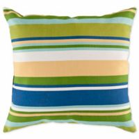 Style Statements by Surya Caledonia Square Throw Pillow in Cobalt