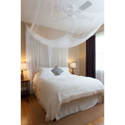 Cirrus Galaxie 4 Poster Bed Canopy In White
