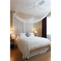 Cirrus Galaxie 4-Poster Bed Canopy in White