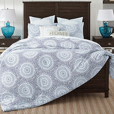 Coastal Living® Floral Medallion Comforter Set