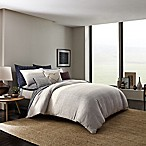 ED Ellen DeGeneres Levitt Full/Queen Duvet Cover in Ivory/Navy