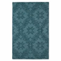 Kaleen Imprints Classic Trellis 9-Foot 6-Inch x 13-Foot 6-Inch Area Rug in Turquoise
