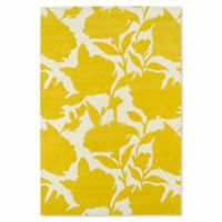 Kaleen Melange Floral Impressions 9-Foot x 12-Foot Area Rug in Yellow