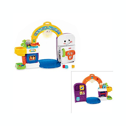 Fisher Price Laugh Learn 2 In 1 Learning Kitchen