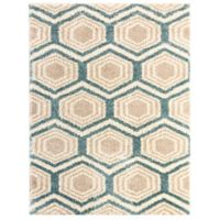 Mohawk Home Huxley Five Forks 8-Foot x 10-Foot Area Rug in Bay Blue