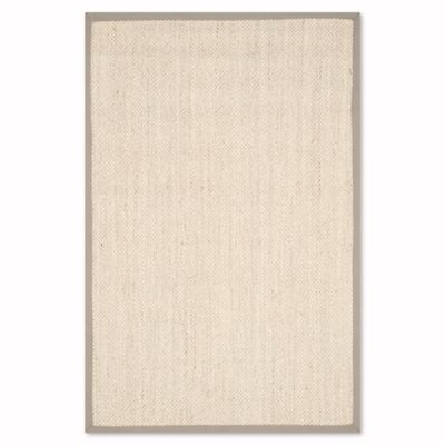 safavieh natural fiber olivia 3foot x 5foot area rug in marble