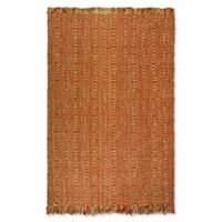 Safavieh Natural Fiber Skylar 6-Foot x 9-Foot Area Rug in Rust