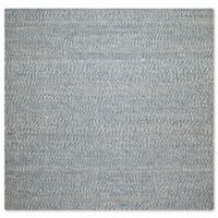 Safavieh Natural Fiber Penelope 4-Foot Square Accent Rug in Blue/Ivory