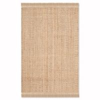 Safavieh Natural Fiber Monique 5-Foot x 8-Foot Area Rug in Natural