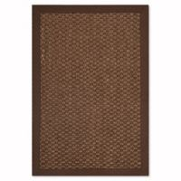 Safavieh Natural Fiber Shannon 2-Foot x 3-Foot Accent Rug in Chocolate